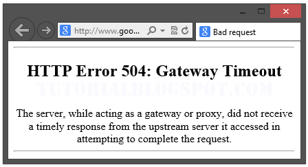 Image result for 504 gateway time-out error