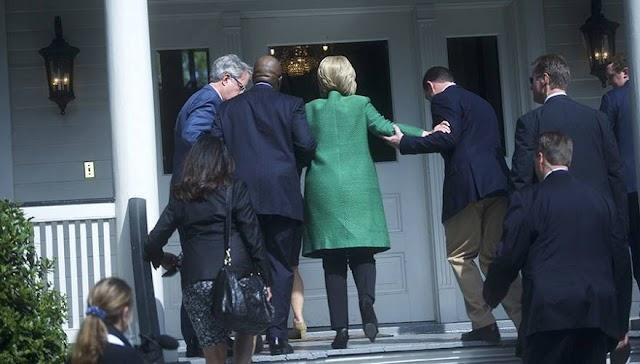 Νέα φωτογραφία που δείχνει ότι «κάτι δεν πάει καλά» με την Χ.Κλίντον