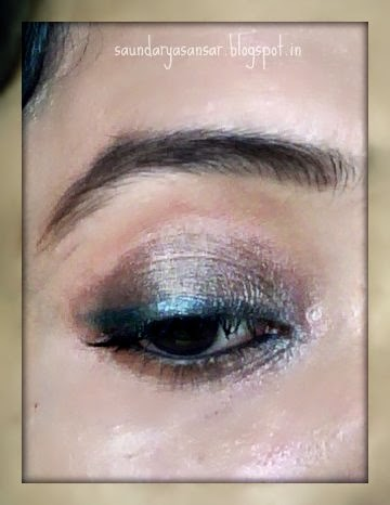 Lakme 9 to 5 GLIDE ON Eye Color in Metallic Black Review