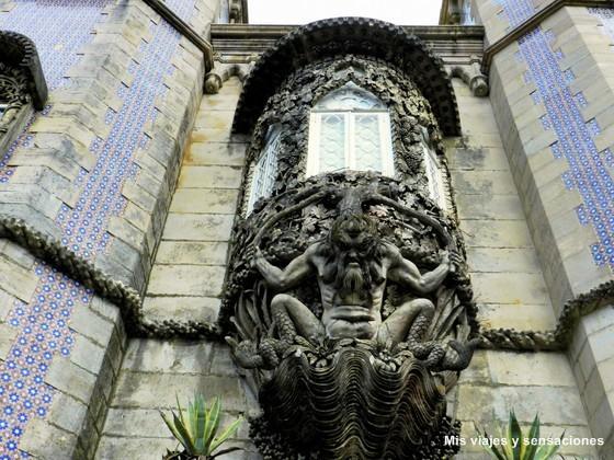 Pórtico del Tritón, Palacio da Pena, Sintra, Portugal