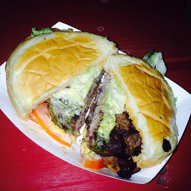 Gott's Roadside burger in Napa Valley