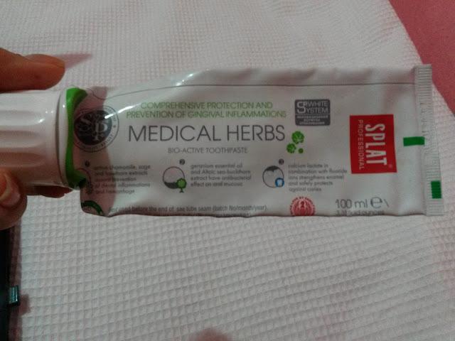 Splat Medical Herbs Diş Macunu