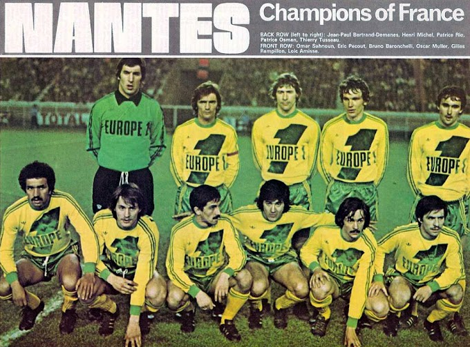 F.C NANTES 1976-77.