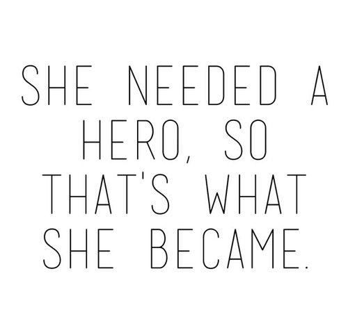Motivational Hero Quote