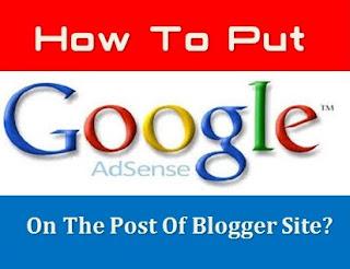 Cara Pasang Iklan Google Adsense Di Postingan [Bawah Judul, Di Tengah dan Di Bawah Postingan, di Paragraf]