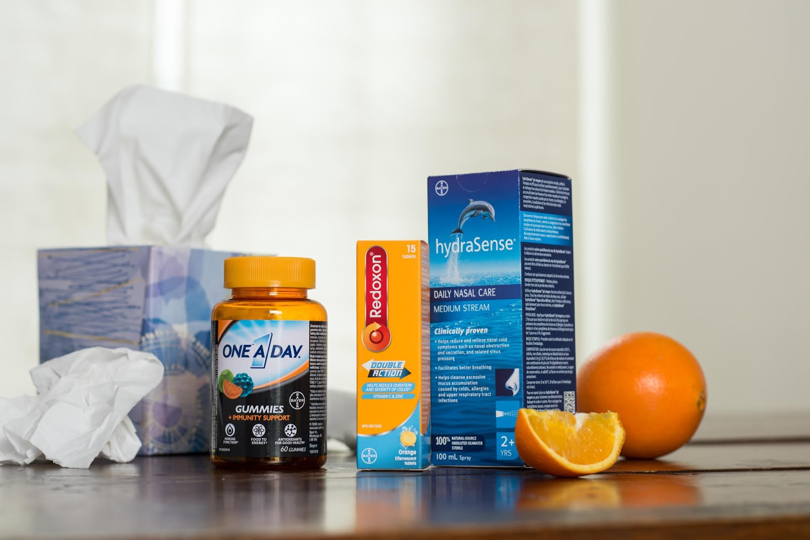 Creating a Mom Sick-Day Kit