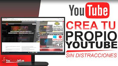 youtube, trucos youtube, diseño youtube, tu propio youtube, gratis, descubre