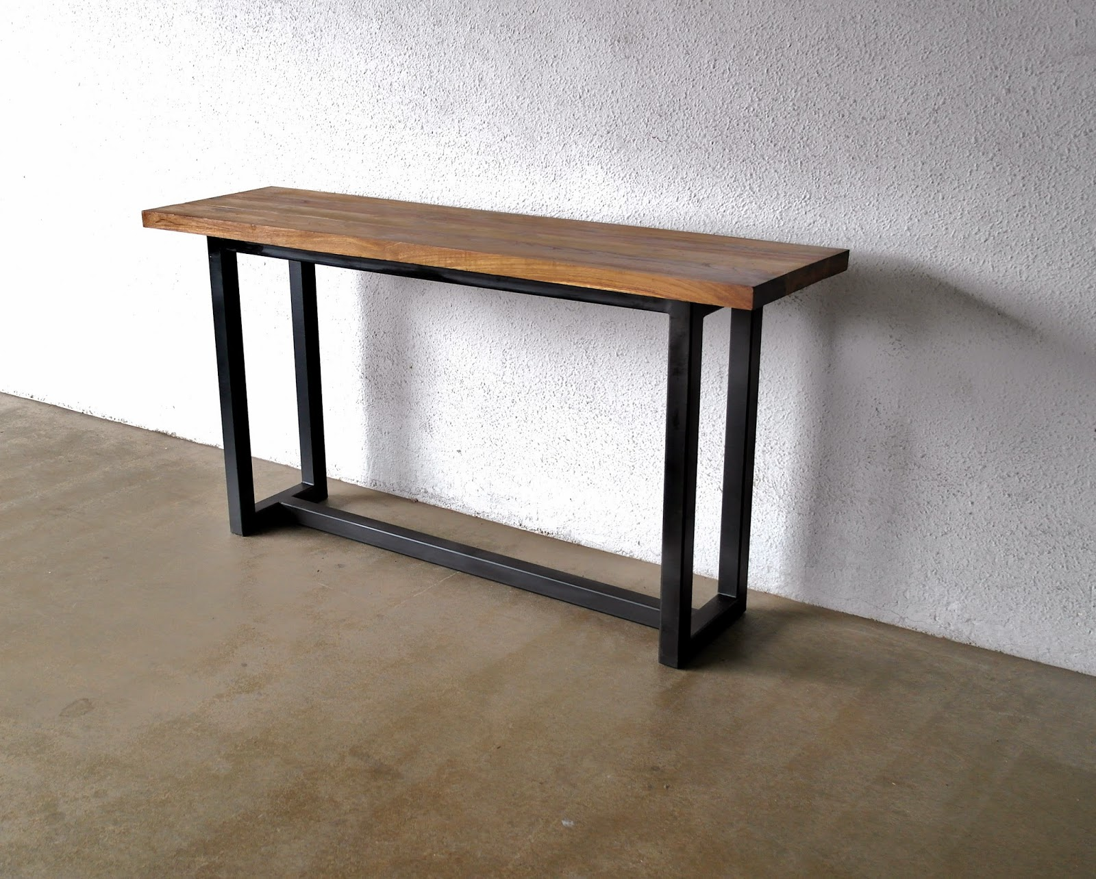 Slimline Sofa Side Table Bed Vancouver Cheap Industrial And Metal Furniture At Second Charm