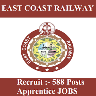 Railway Recruitment Cell, East Coast Railway, RRC, ECR, Odisha, 10th, ITI, Apprentice, Indian Railway, RAILWAY, Railway, freejobalert, Sarkari Naukri, Latest Jobs, Hot Jobs, east coast railway logo