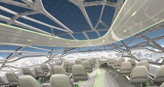 Δείτε πώς θα είναι τα αεροπλάνα το 2050