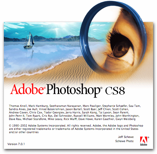 Adobe Photoshop CS8 Portable Apenas 40 MB