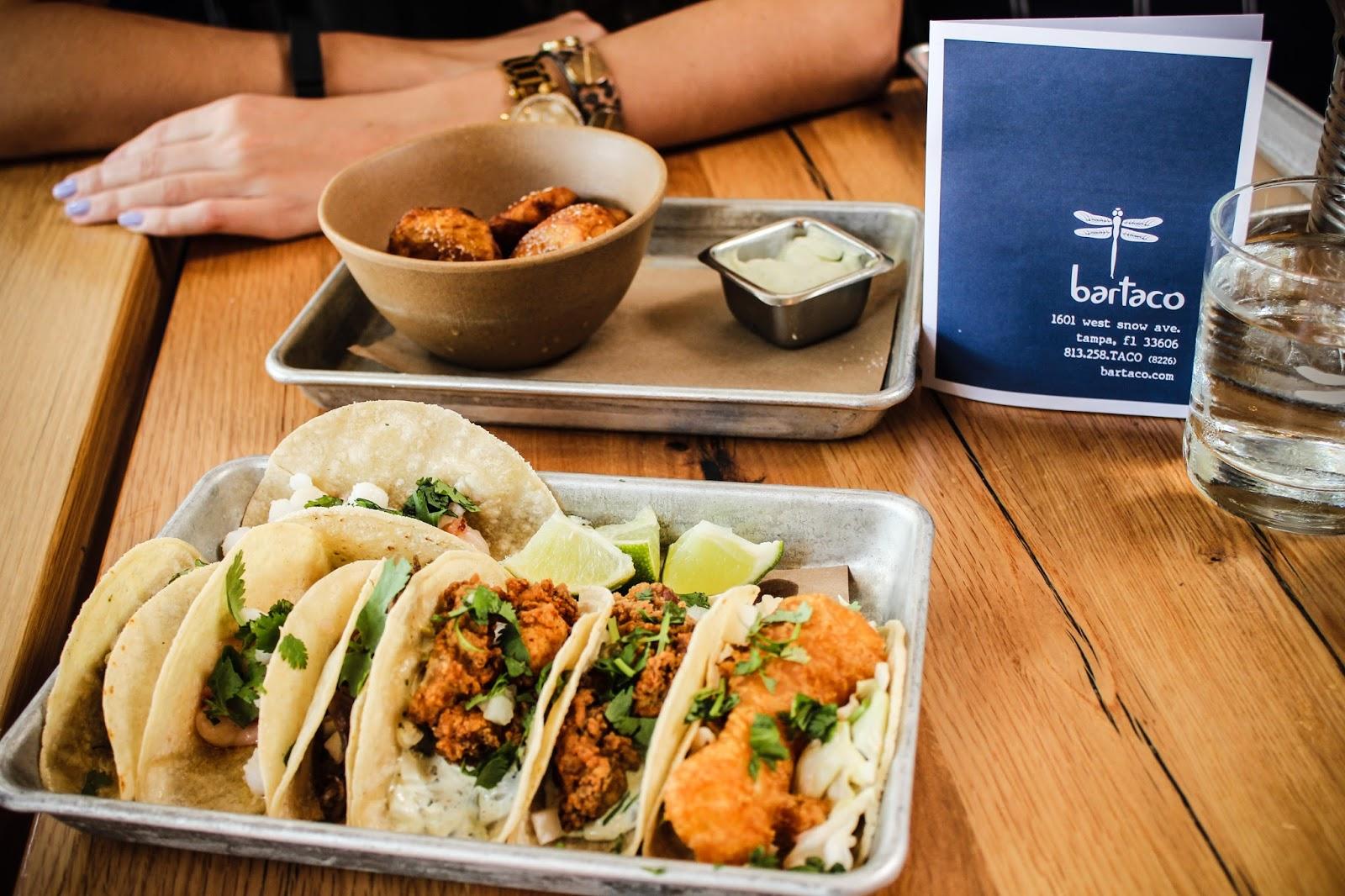 Bartaco Hyde Park - Lobster Taco & Margarita