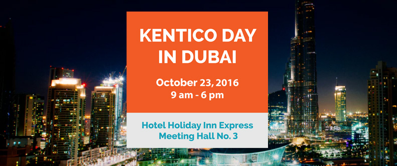 Kentico Day in Dubai