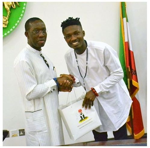#BBNaija: Delta State Governor Gifts BBNaija Winner Efe N15million (Photos)