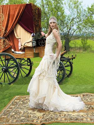 Vestidos de novia Hippies
