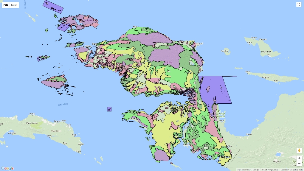 RTRW Papua Barat