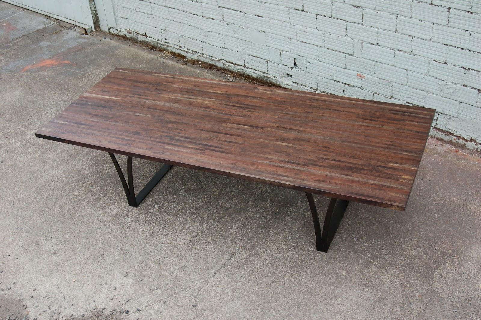 Black Walnut Kitchen Table Oak Pantry Maker Some New Stuff Deadfall Oregon