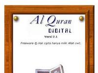 Al-Quran digital dan terjemahannya untuk pc