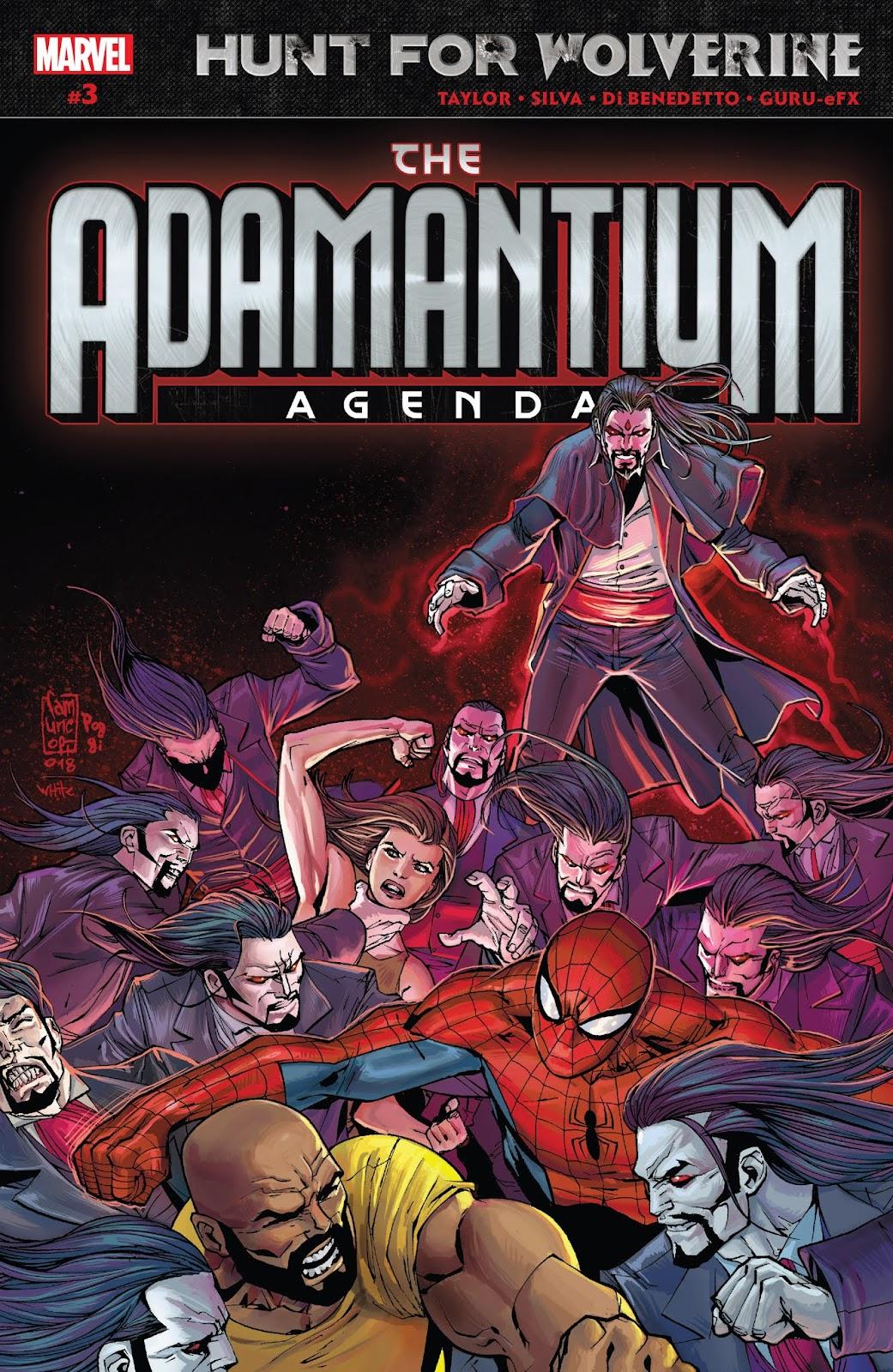 Hunt for Wolverine: Adamantium Agenda issue 3 - Page 1