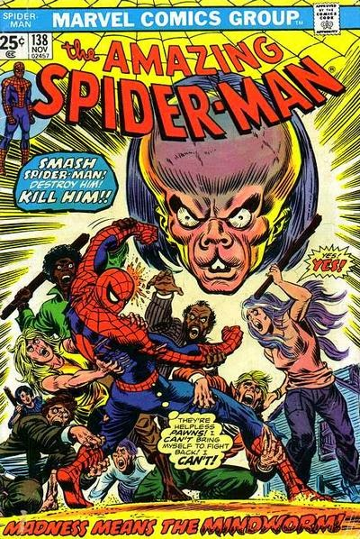 Amazing Spider-Man #138, Mind-Worm