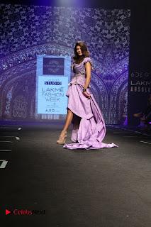 Bollywood Actress Sushmita Sen Latest Pos at Lakme Fashion Week 2017  0002.jpg