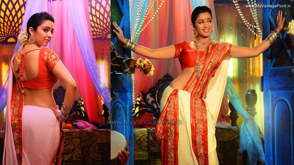 charmme-kaur-hot-in-jyothi-lakshmi-charmme-kaur-hot-back-in-saree-charmme-kaur-sexy-in-half-saree-charmme-kaur-sexy-backshow-in-white-charmi-kaur-hottest-backshow