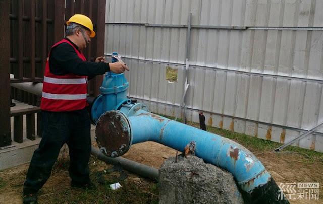 新竹水情轉綠燈 備援水井上場日增1萬噸用水