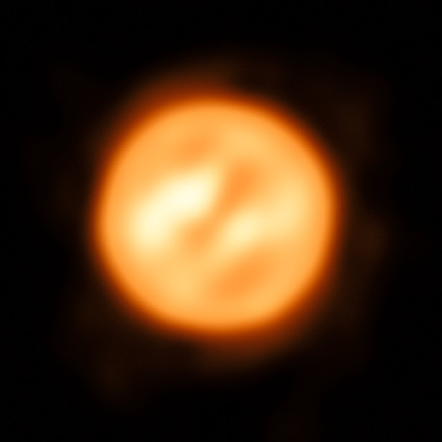 Best ever image of a star's surface, atmosphere