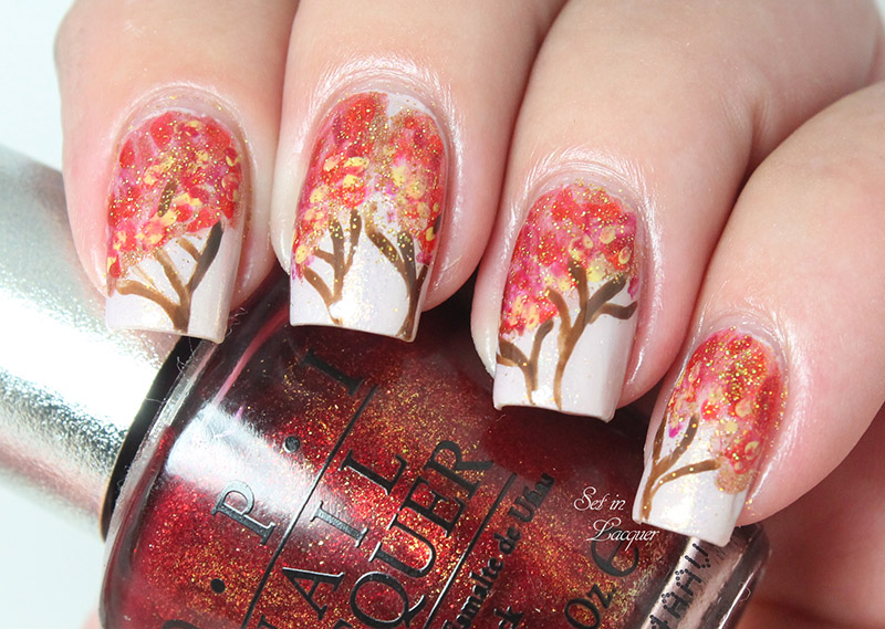 Autumn - love it or leaf it - Set in Lacquer