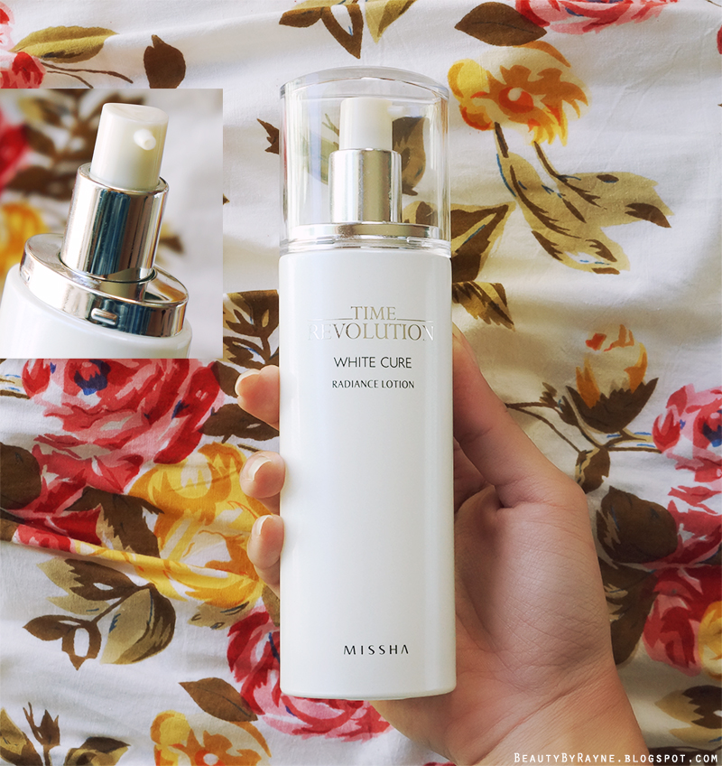 First impressions review Missha Time Revolution White Cure Radiance Lotion