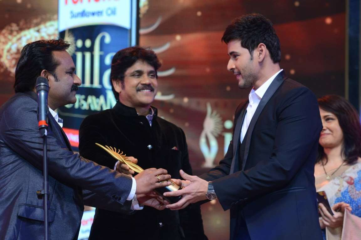 Telugu superstar Mahesh Babu took home the Best Performance in a Leading Role  Male award for his performance in Srimanthudu