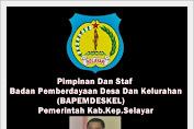 Drs.Ahmad Aliefyanto MM, Ka.BAPEMDESKEL MENGUCAPKAN SELAMAT HARI RAYA IDUL FITRI 1437 H.