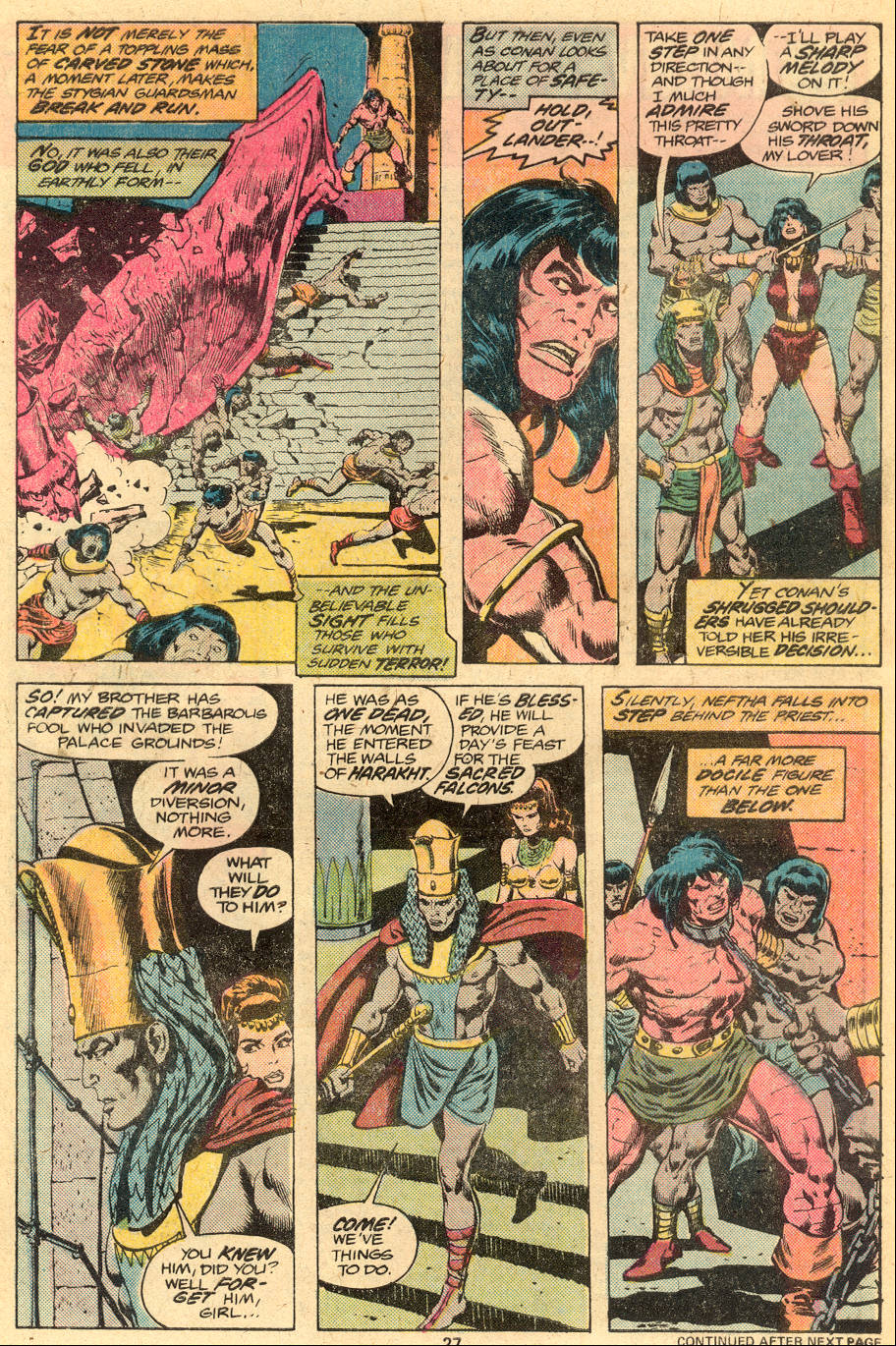 Conan the Barbarian (1970) Issue #76 #88 - English 16