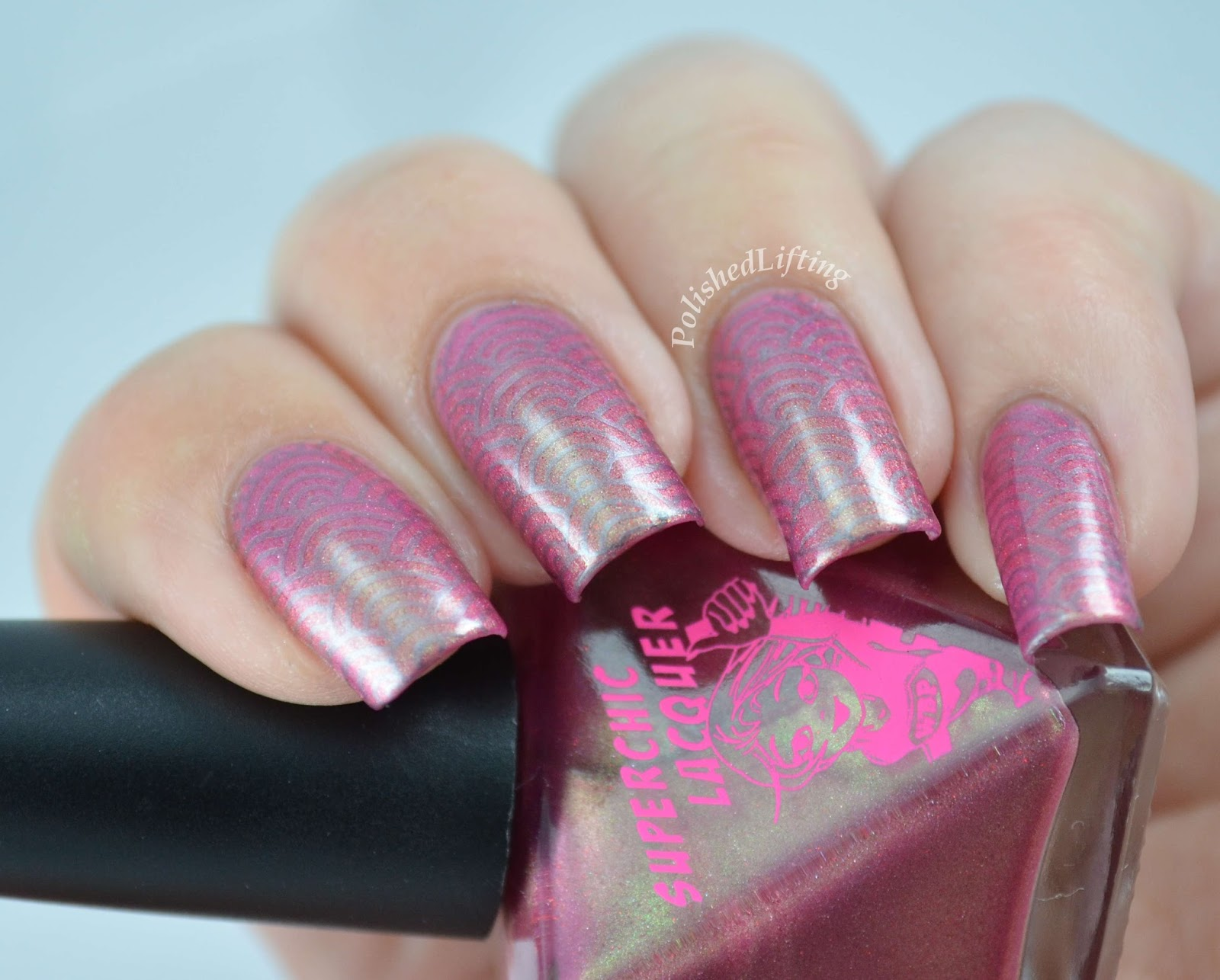 Superchic Lacquer Golden Delicious Curse Vivid Lacquer stamping vl 031 sally hansen insta dri gone grey