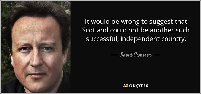 Scotland would be successful David Cameron