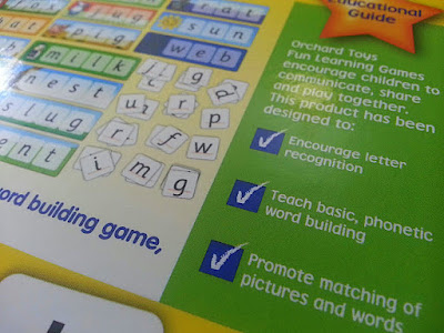 Games for children learning to read