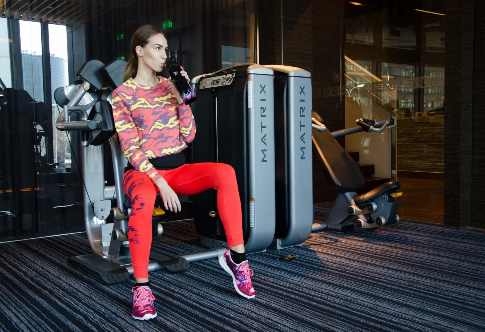 kristjaana mere cityspa reebok workout clothes