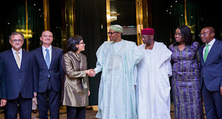 President Buhari meets World Bank COO Sri Indrawati