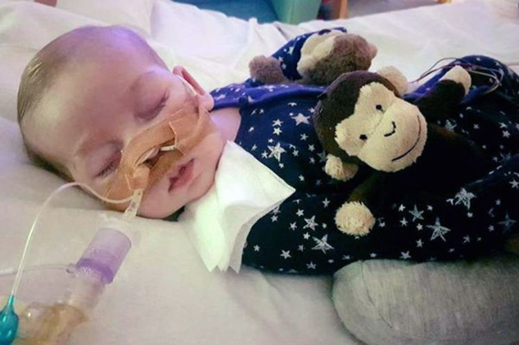 charlie gard taken off life support