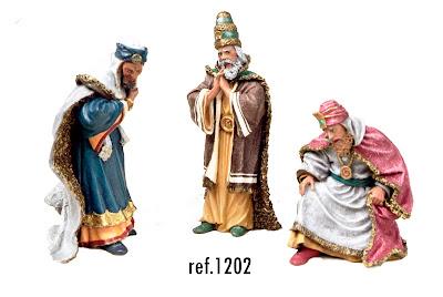 Reyes Magos 12 cm.