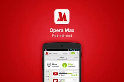 Opera Max! Aplikasi Pengelola Data