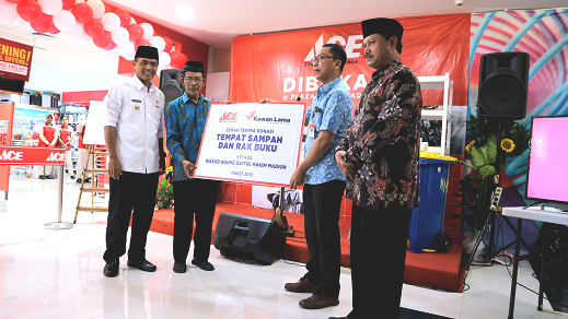 Ace Buka Toko Pertama Di Lawu Plaza Madiun Duta Nusantara Merdeka