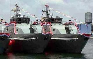 PERKUAT LANTAMAL, TNI AL LUNCURKAN TIGA UNIT KAL 28M PROPELLER