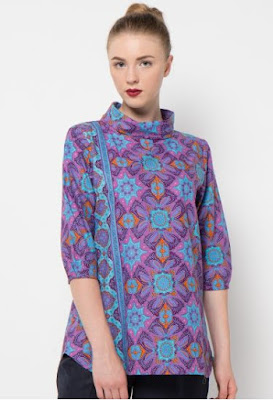 gambar model baju batik wanita danar hadi