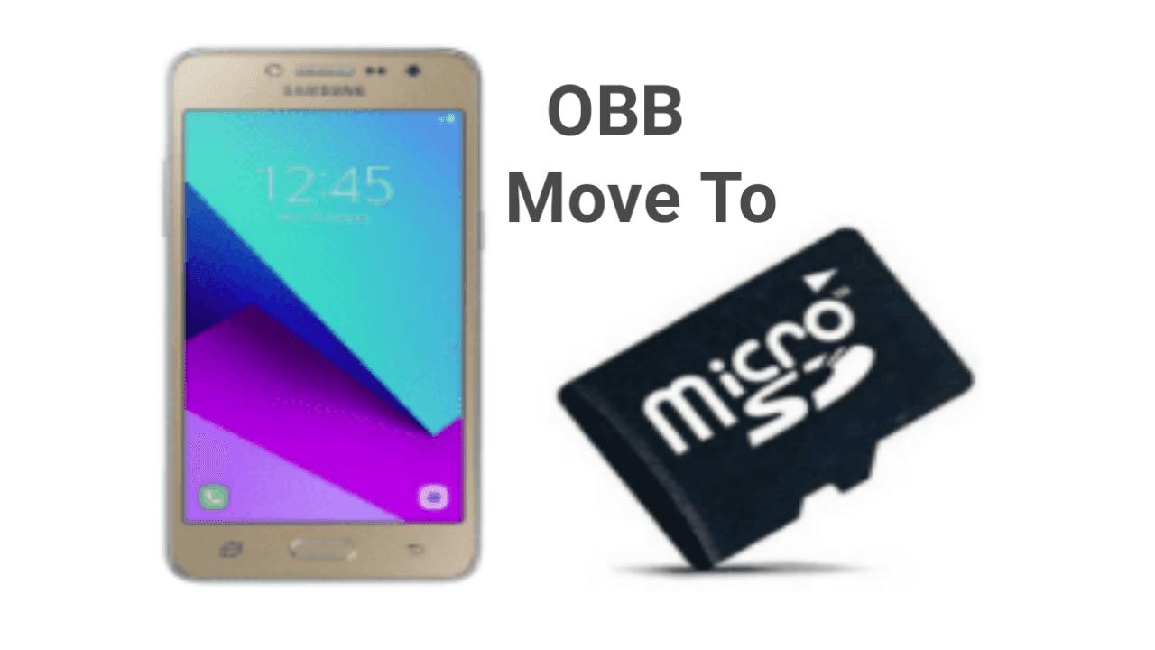 Cara memindahkan data file obb ke sd card