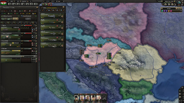 Hearts of Iron 4 Death or Dishonor Free Download