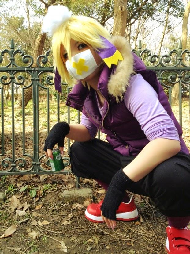 Pokemon Cosplay: Interesting Pokemon Gijinka Drifblim Cosplay