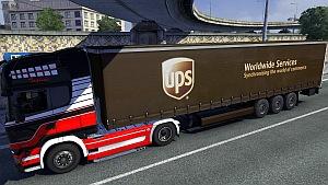 UPS trailer mod updated