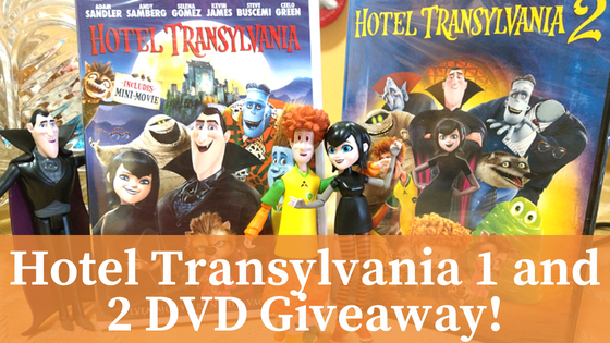 Hotel Transylvania 1 And 2 DVD Giveaway