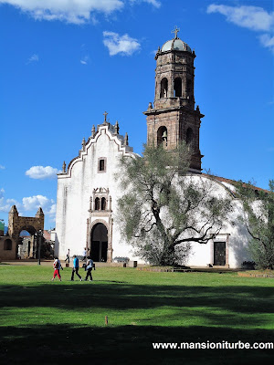 Temple of Solitude in Tzintzuntzan, Michoacán